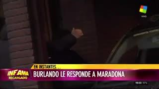 Maradona disparó contra todos