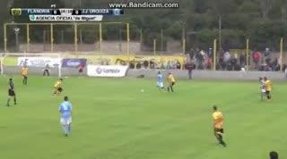 El 1-1 entre Flandria y JJ Urquiza