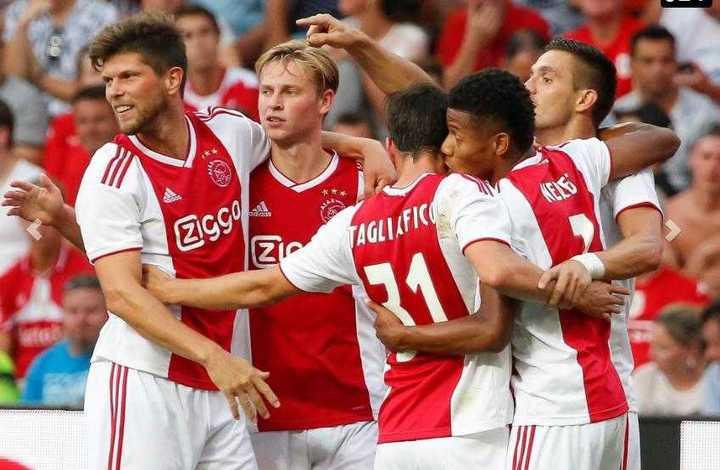 La asistencia de Tagliafico para el 1-0 del Ajax