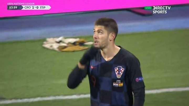 Kramaric marcó el primero de Croacia