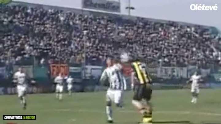 El gol tempranero de Delorte en 2006