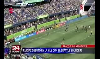 Doblete de Lodeiro en Seattle Sounders