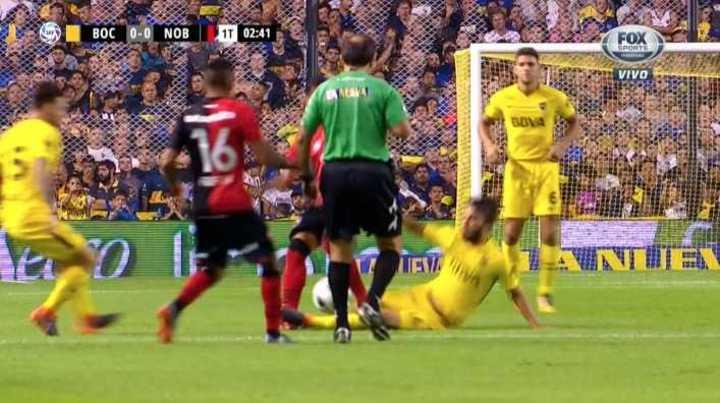Pérez se salvó de la roja