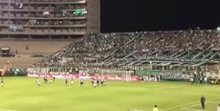 El primer gol de José Sand en el fútbol colombiano