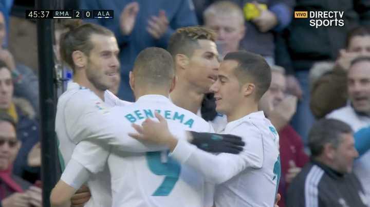 Bale marcó el segundo
