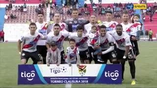 El triunfo 6-1 de Nacional Potosí ante Bolívar