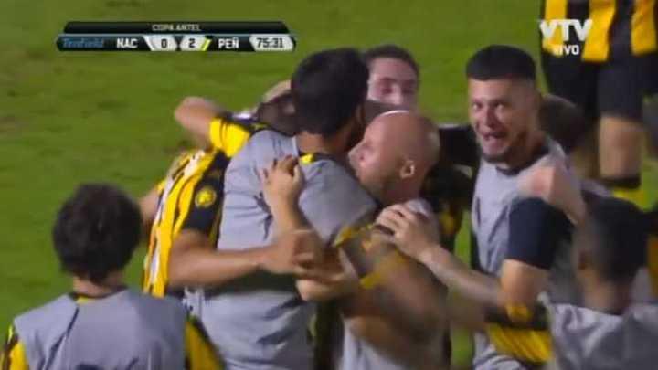 Los goles del clásico uruguayo