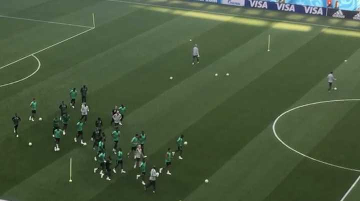 Así se prepara Nigeria para enfrentar a la Argentina