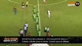 Sportivo Belgrano le ganó 2-1 a Estudiantes de Río IV sin Pablito Aimar