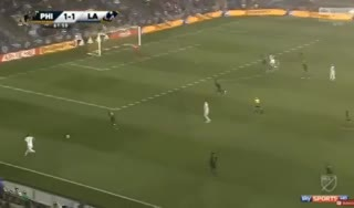 El gol de Ibrahimovic para Los Angeles Galaxy