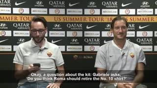 Francesco Totti, ídolo italiano