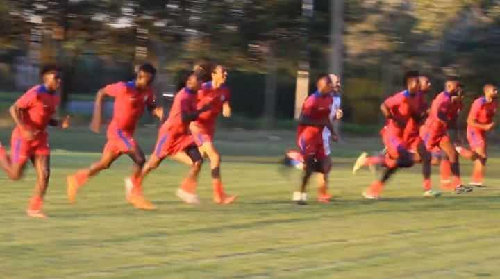 Haití se entrena en Argentina