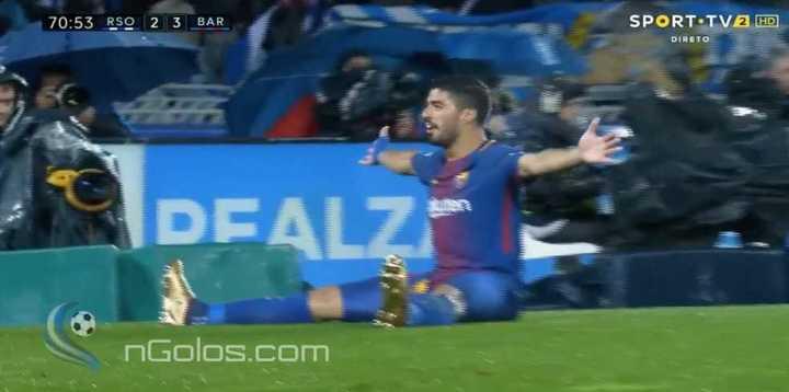 Lo dio vuelta el Barcelona con Suárez