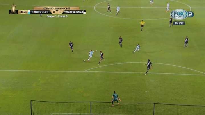 Lautaro Martínez no pudo de remate