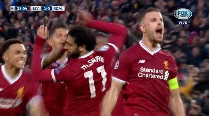 ¡Tremendo golazo de Salah!
