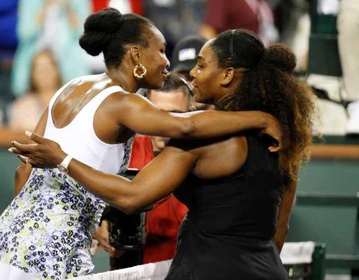 Serena Williams, al menos, hizo el punto de la jornada frente a Venus