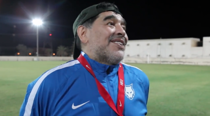 Maradona imperdible