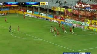El 1-0 de Aldosivi a Boca Unidos