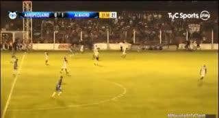 Lindo gol de Almagro ante Agropecuario