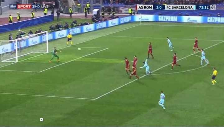 Alisson atajó remate de Messi