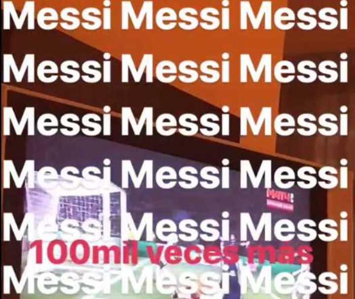 Farfán, loco con Messi