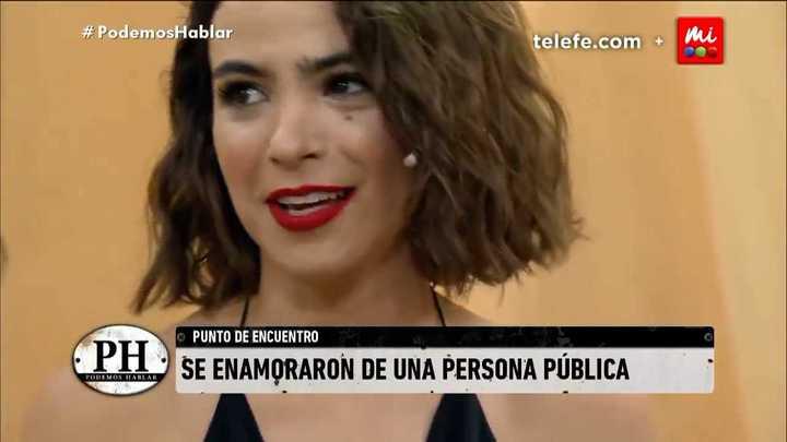 Agustina Cherri confesó de qué famoso estaba enamorada cuando era adolescente