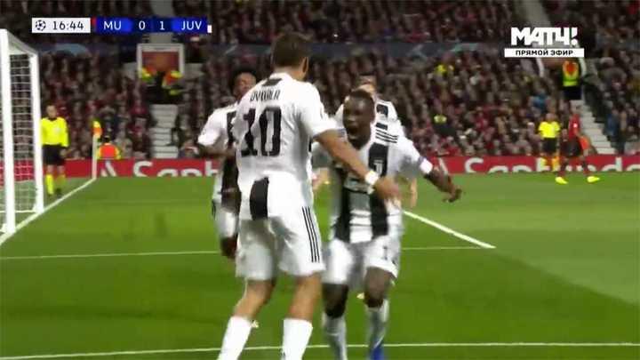 El gol de Paulo Dybala para la Juventus