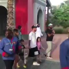 Messi, presente en Dubai