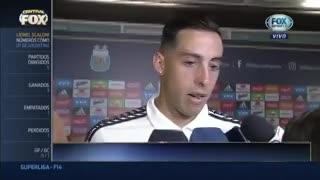 Funes Mori habló tras el partido