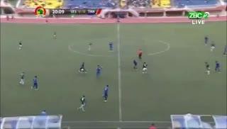 El insólito gol que falló Lesoto ante Tanzania