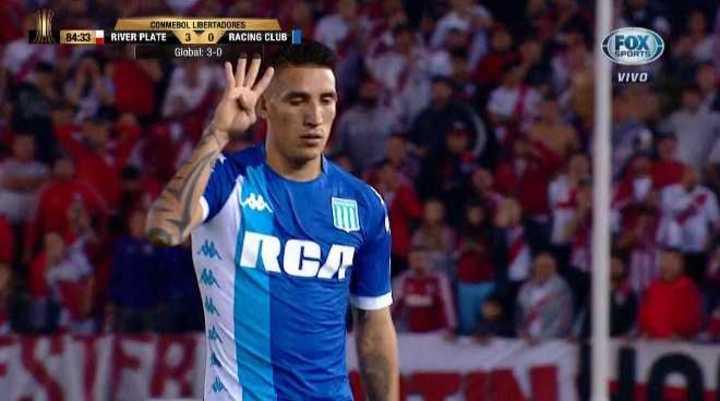 Conmebol Libertadores Enzo Pérez reveló el motivo de su gesto contra Ceturión