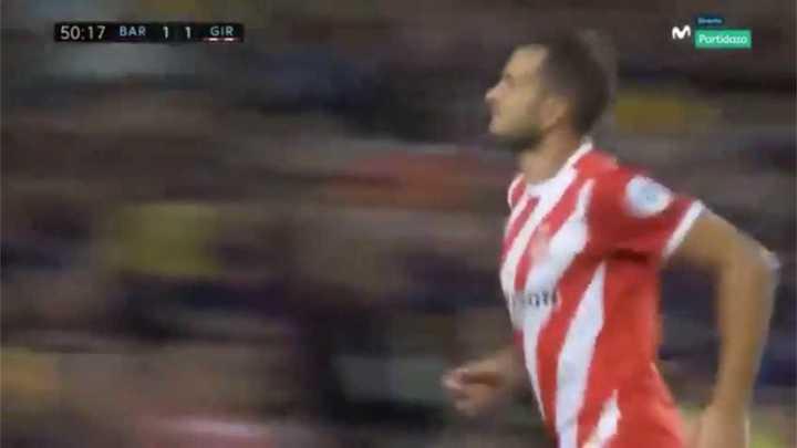 Girona lo dio vuelta, Stuani convirtió el segundo