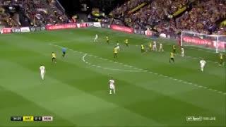 Los goles del Watford - Manchester United