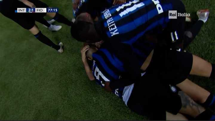Asistencia de Icardi y gol del Inter