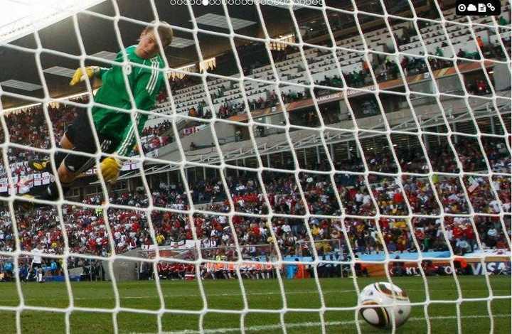 """El """"gol fantasma"""" de Lampard"""