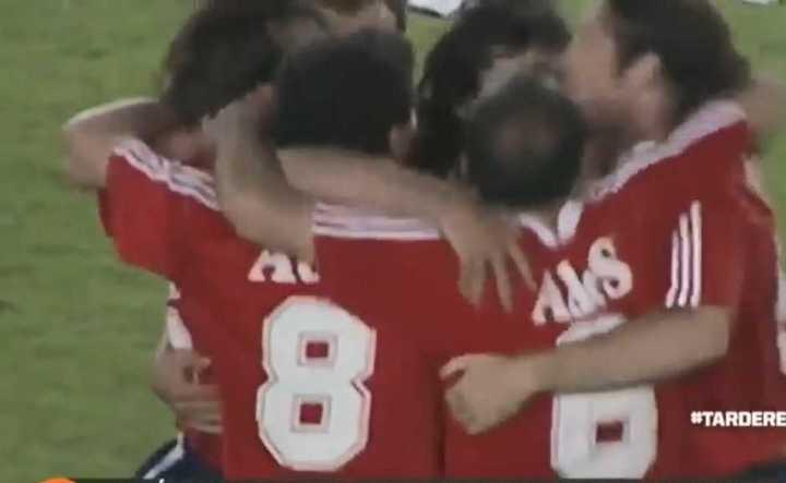 El Rojo le ganó a River en 1995