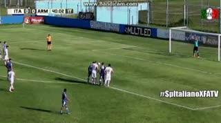 El 1-1 entre Italiano y Armenio