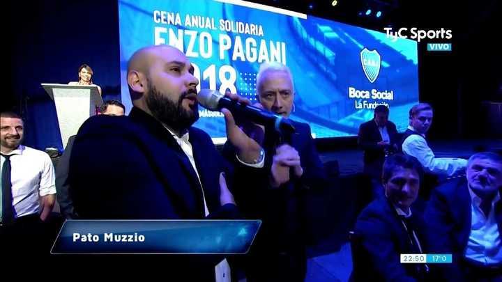 Las desopilantes imitaciones de Pato Muzzio