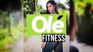 Mirá la rutina de la bomba del fitness colombiano