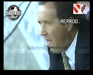 Independiente 1 - River 1, por la Libertadores 1995
