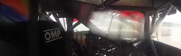 El accidente de Okulovich en La Pedrera desde adentro