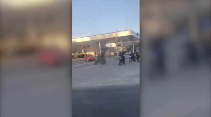 Incidentes entre la hinchada de Vélez y la policía