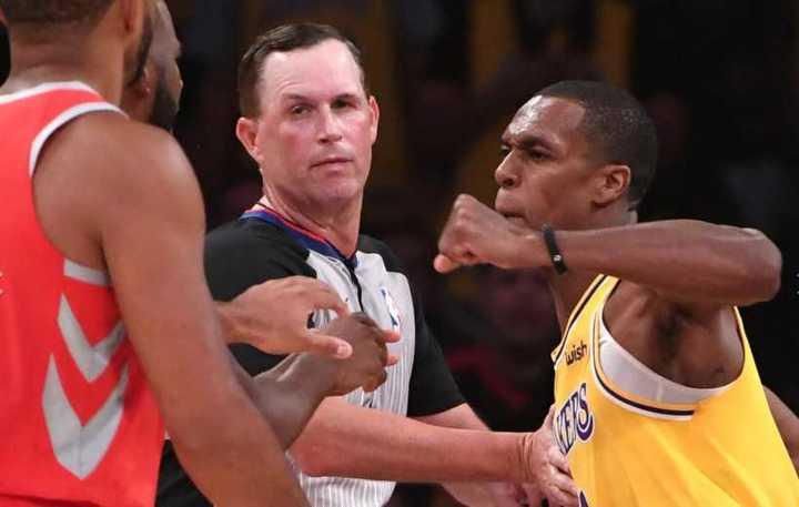 ¡Lakers y Rockets se fueron a las piñas!