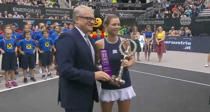 Camila Giorgi ganó el torneo de Linz.