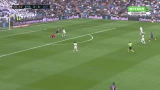 Morales puso el 1-0 para Levante frente a Real Madrid
