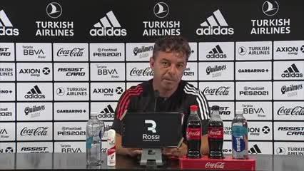 Gallardo habló acerca de Borré y su lesión