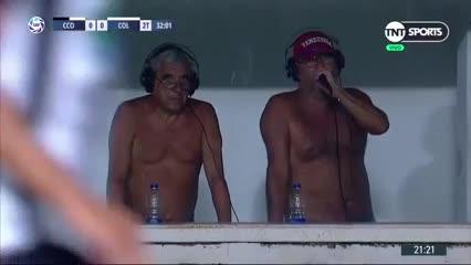 En Santiago los relatores no soportaron el calor