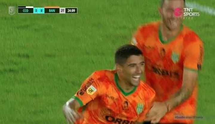 Alvarez marcó el 1 a 0 para el Taladro