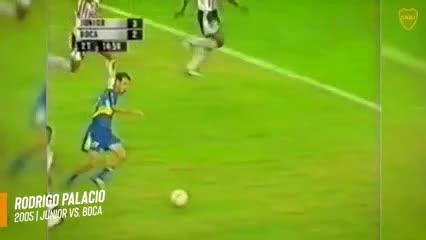 Los goles de Boca en Colombia
