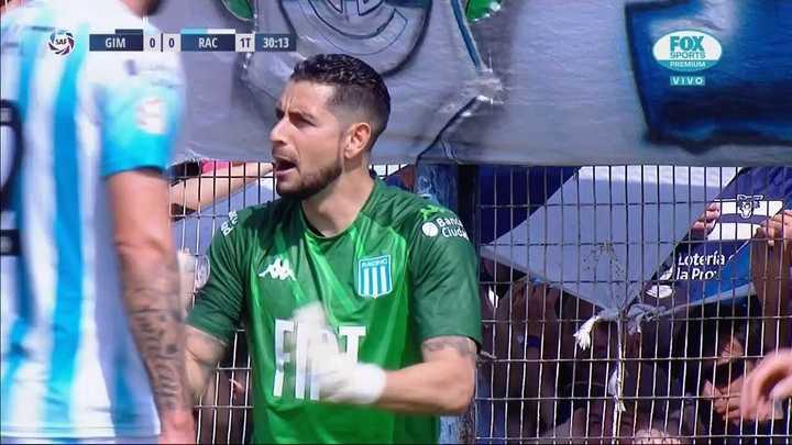 Las dos chances de Gimnasia y la reacción de Diego
